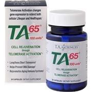 TA-65, Ativador da Telomerase, 30 cápsulas