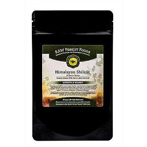 Himalayan Shilajit Extract (20% Ácido Fulvico), Raw Forest Foods - 65 Gramas
