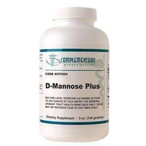 D-Mannose em Pó, Complementary Prescriptions, 144 g