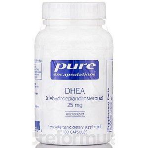 DHEA 25 mg, Pure Encapsulations, 180 Capsulas