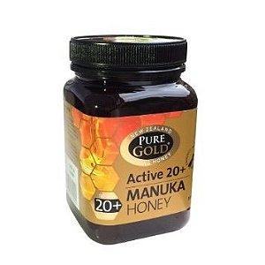 Mel Manuka 20+, Pure Gold, 500g