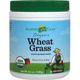 Grama do Trigo em Pó, Amazing Grass, 240 g