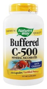 Vitamina C Buferizada, Buffered C-500, Nature's Way - 250 Capsulas