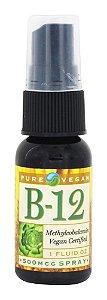 Spray B-12(Methylcobalamina) Vegana, 500 mcg, Pure Vegan, 30ml
