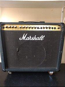 Amplificador de Guitarra Marshall Valvestate 8080 Combo 80w Usado