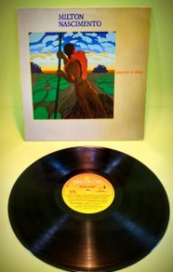 Disco LP Milton Nascimento - Journey To Dawn