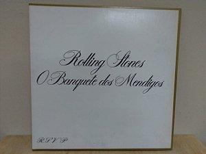 Lp Rolling Stones - O Banquete Dos Mendigos Nacional 1982 Ex