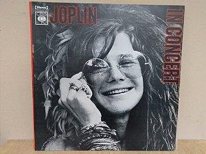 Lp Joplin In Concert 1972 Duplo 2ªed Cbs Nacional Exx