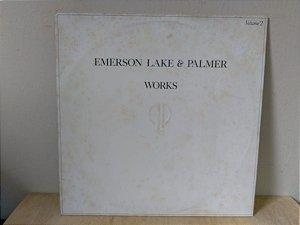 Lp Emerson Lake & Palmer Works Volume 2 1977 Nacional
