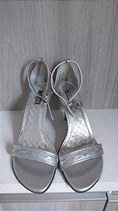Sandália prata