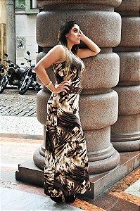 Vestido Wax Collection Longo