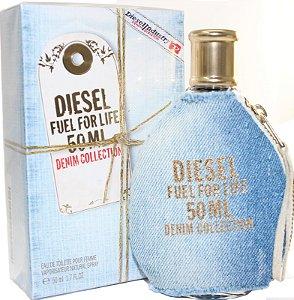 Perfume Fuel For Life Denim Collection Diesel Eau de Toilette Feminino 75 ml