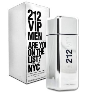 Perfume 212 VIP Men Carolina Herrera Eau de Toilette Masculino 100 ml
