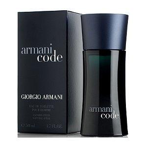 Perfume Armani Code Giorgio Armani Eau de Toilette Masculino 75 ml