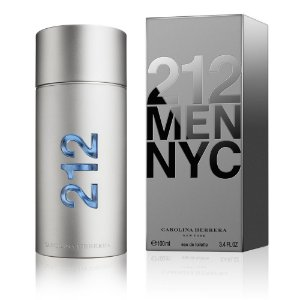 Perfume 212 NYC MEN Carolina Herrera Eau de Toilette Masculino 100 ml