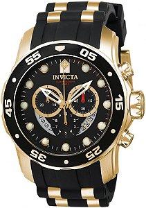 Relógio Invicta Pro Diver Fundo Preto Modelo 6981