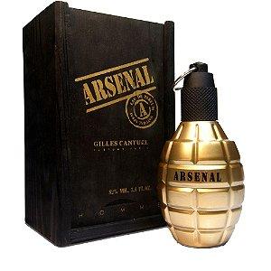 Perfume Importado Arsenal Gold Edp 100ml - Gilles Cantuel Masculino