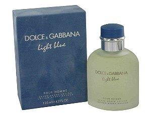 Perfume Light Blue Pour Homme Dolce & Gabbana Eau de Toilette Masculino 125 ml