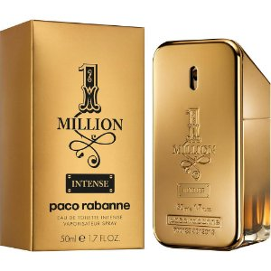 Perfume 1 Million Intense Paco Rabanne Eau de Toilette Masculino 50 ml