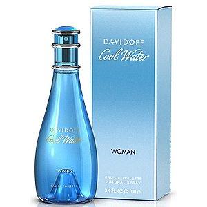 Perfume Cool Water Zino Davidoff Eau de Toilette Feminino 100 ml