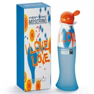Perfume Importado I Love Love Edt 100ml - Cheap And Chic Moschino Feminino
