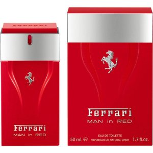 Perfume Ferrari Man in Red Ferrari Eau de Toilette Masculino 100 ml