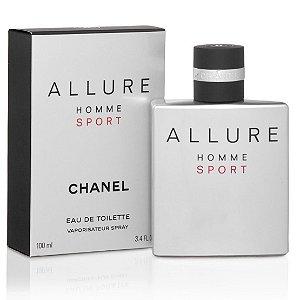 Perfume Importado Allure Homme Sport Edt 100ml - Chanel Masculino