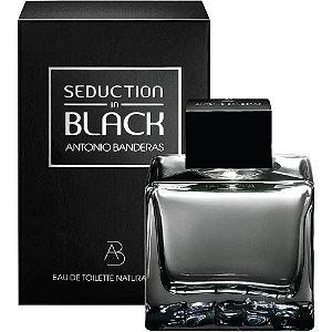 Perfume Seduction in Black Antonio Banderas Eau de Toilette Masculino 200 ml