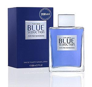 Perfume Blue Seduction Antonio Banderas Eau de Toilette Masculino 200 ml