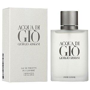 Acqua Di Gio Edt 200ml Armani Perfume Importado Original Masculino
