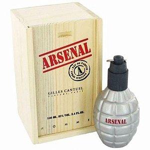 Perfume Importado Arsenal Grey Edp 100ml - Gilles Cantuel Masculino