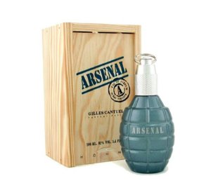 Perfume Importado Arsenal Blue Edp 100ml - Gilles Cantuel Masculino