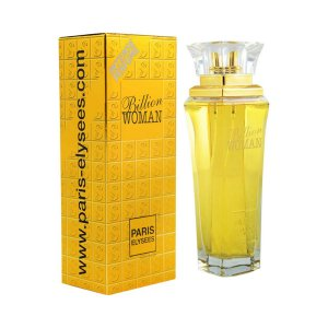 Perfume Importado Billion Woman Edt 100ml - Paris Elysees Feminino