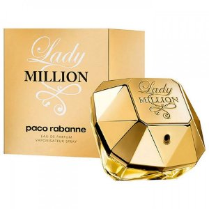 Perfume Importado Lady Million Edp 80ml - Paco Rabanne Feminino