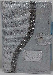 Bíblia e harpa tijolinho c/ pedrinhas