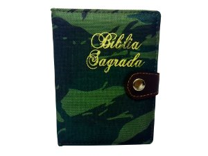 Bíblia camuflada exército c/ HARPA