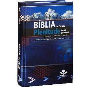 Bíblia de plenitude para jovens- Azul