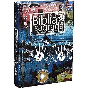 Bíblia Sagrada com notas para jovens Ilustrada
