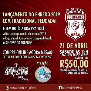 FEIJOADA COM LANÇAMENTO DE ENREDO 2019