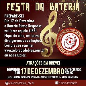 Festa Bateria Ritmo Responsa! 17/dez/17 - INGRESSOS ANTECIPADOS