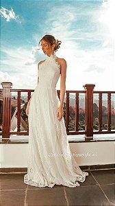 Vestido de Noiva Frente Única Doce Maria