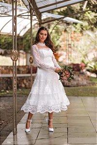 Vestido Midi Doce Maria Bride Helena