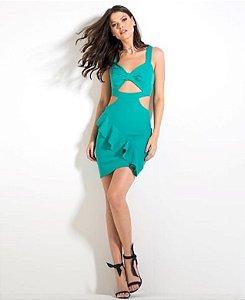 Vestido Curto verde LeBlogStore