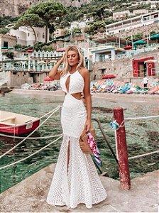 Vestido em renda Resort Bianca