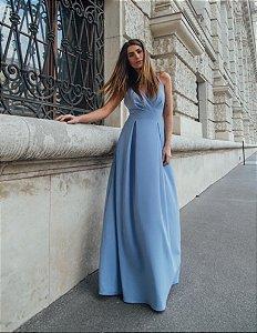 Vestido Azul Serenity Bianca
