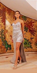Vestido Saia Longo