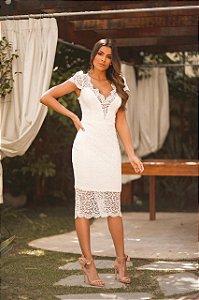 Vestido Midi Doce Maria Clara