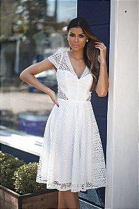 Vestido Midi Branco Itapoã