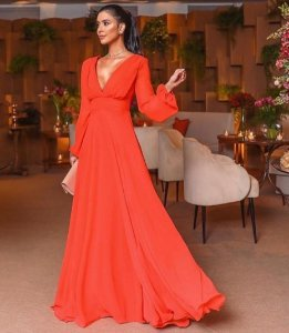 Vestido Longo Giovanna
