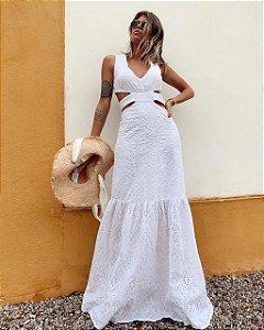 Vestido Longo em Laise Cancun
